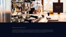 고급 커피 숍 테마 파워포인트_29