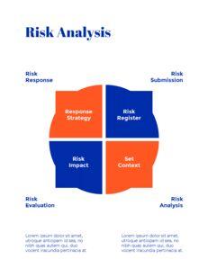 파란색 배경 개념 연례 보고서 베스트 PPT 템플릿_16