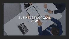 사업 제안서 심플한 Google 슬라이드 템플릿_04