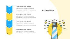 평면 디자인 레이아웃 피치덱 심플한 프레젠테이션 Google 슬라이드 템플릿_09