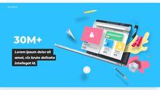 우리는 Creative Pitch Deck Design입니다. 심플한 Google 슬라이드 템플릿_06