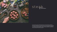 고기와 연어 전문점 비즈니스 PPT_03
