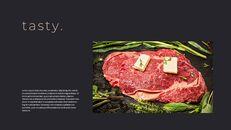 고기와 연어 전문점 비즈니스 PPT_09