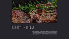 고기와 연어 전문점 비즈니스 PPT_25