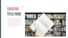 도서관 프레젠테이션용 PowerPoint 템플릿_14