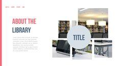 도서관 프레젠테이션용 PowerPoint 템플릿_15