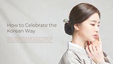 추석, 한국의 명절 심플한 슬라이드 디자인_25