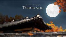 추석, 한국의 명절 심플한 슬라이드 디자인_40
