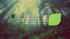 환경 보호 프레젠테이션용 PowerPoint 템플릿_14