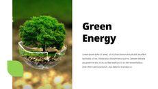 환경 보호 프레젠테이션용 PowerPoint 템플릿_16
