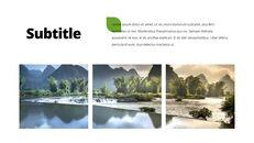 환경 보호 프레젠테이션용 PowerPoint 템플릿_22