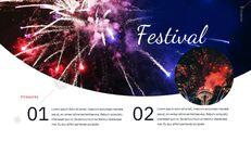 불꽃 놀이 축제 편집이 쉬운 구글 슬라이드 템플릿_10