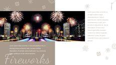 불꽃 놀이 축제 편집이 쉬운 구글 슬라이드 템플릿_13