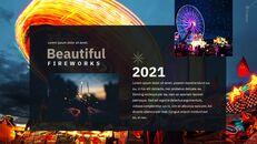 불꽃 놀이 축제 편집이 쉬운 구글 슬라이드 템플릿_22