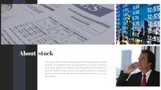 주식 시장 심플한 파워포인트 디자인_03