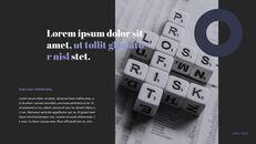 주식 시장 심플한 파워포인트 디자인_08