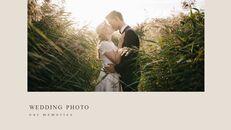 결혼식 특별한 순간 비즈니스 파워포인트 템플릿_19