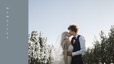 결혼식 특별한 순간 비즈니스 파워포인트 템플릿_20