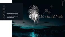 불꽃 놀이 축제 편집이 쉬운 구글 슬라이드 템플릿_27