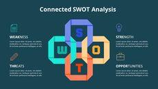 크로스 SWOT 분석 애니메이션 다이어그램_06