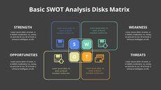 SWOT 분석 다이어그램 애니메이션 파워포인트 템플릿_12