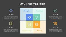 SWOT 분석 다이어그램 애니메이션 파워포인트 템플릿_14