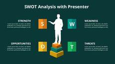 SWOT 분석 다이어그램 애니메이션 파워포인트 템플릿_09
