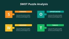 SWOT 분석 다이어그램 애니메이션 파워포인트 템플릿_10