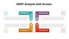 SWOT 분석 다이어그램 애니메이션 슬라이드_04