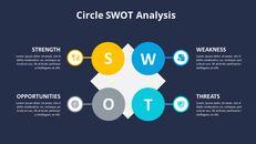 SWOT 분석 다이어그램 애니메이션 슬라이드_06