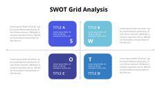 SWOT 그리드 분석 다이어그램 PowerPoint의 애니메이션 슬라이드_07