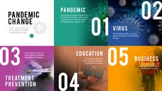 The Age of Pandemic company profile template design_03