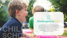 Kindergaten 비즈니스 사업 PPT 템플릿_03