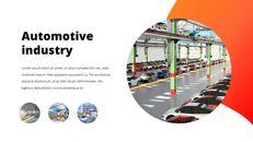 자동차 산업 비즈니스 프레젠테이션 템플릿_22
