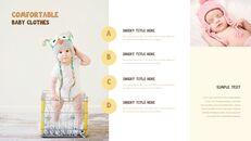 아기 패션 전문적인 프레젠테이션_27