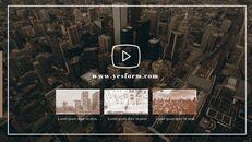 아름다운 도시 마천루 파워포인트 제안서_18