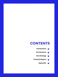Blue Simple Layout 연례 보고서 비즈니스 사업 피피티_03