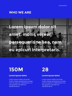 Blue Simple Layout 연례 보고서 비즈니스 사업 피피티_04
