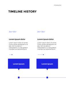 Blue Simple Layout 연례 보고서 비즈니스 사업 피피티_06