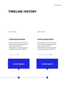 Blue Simple Layout 연례 보고서 비즈니스 사업 피피티_07