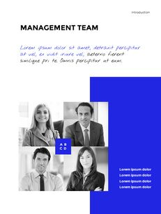 Blue Simple Layout 연례 보고서 비즈니스 사업 피피티_08