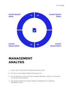Blue Simple Layout 연례 보고서 비즈니스 사업 피피티_13