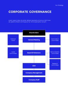 Blue Simple Layout 연례 보고서 비즈니스 사업 피피티_14