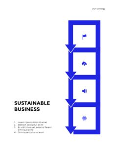 Blue Simple Layout 연례 보고서 비즈니스 사업 피피티_16