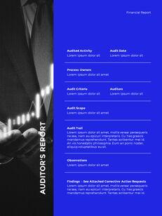 Blue Simple Layout 연례 보고서 비즈니스 사업 피피티_18