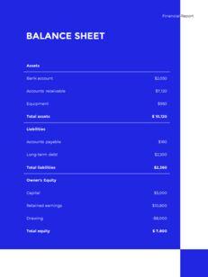 Blue Simple Layout 연례 보고서 비즈니스 사업 피피티_19
