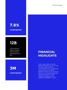Blue Simple Layout 연례 보고서 비즈니스 사업 피피티_22