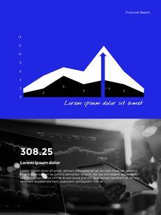 Blue Simple Layout 연례 보고서 비즈니스 사업 피피티_23
