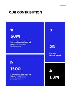 Blue Simple Layout 연례 보고서 비즈니스 사업 피피티_25