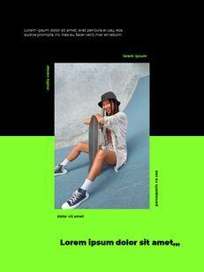 스포티 한 컨셉 레이아웃 디자인 프레젠테이션 슬라이드 ppt_07